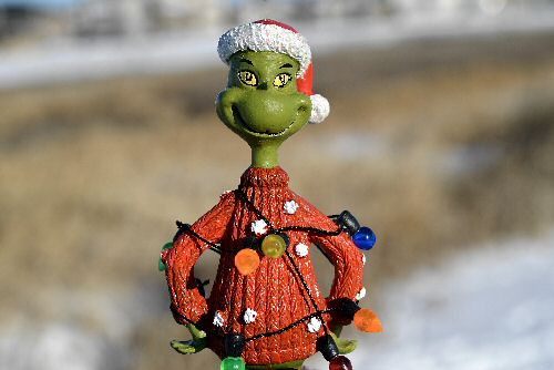 Grinch figurine
